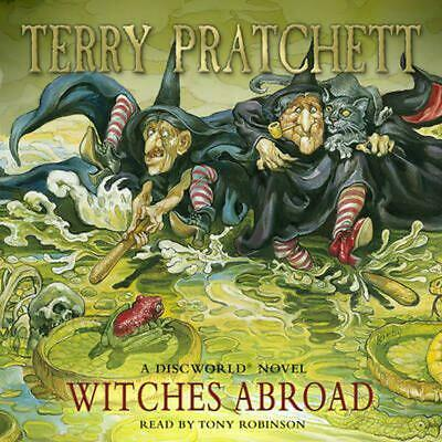 Witches Abroad: (Discworld Novel 12) by Terry Pratchett (English) Compact Disc B