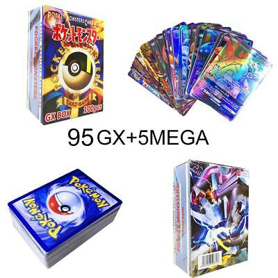 100/120 Pcs New Pokemon Cards Bundle All Holo-GUARANTEED GX HYPER RARE-FULL ART
