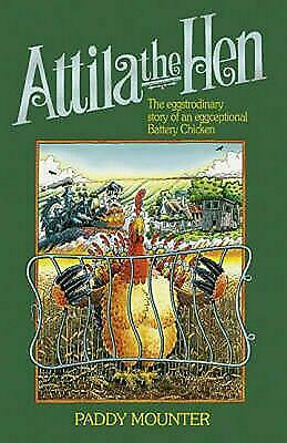Attila the Hen by Paddy Mounter Hardcover Book Free Shipping!