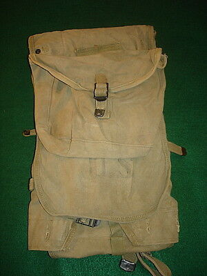 Wwii U.s. M1928 Haversack With Meat Can Pouch