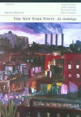 New York Poets: An Anthology by John Ashbery Paperback Book Free Shipping!