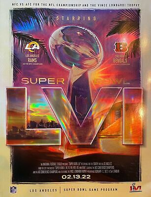 Super Bowl LIII 53 Official National Program Rams vs Patriots