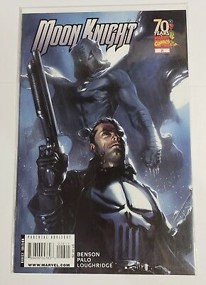 Moon Knight #26 (Mar 2009, Marvel) [Punisher] Gabriele Dell'Otto 9.4+