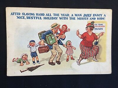 Vintage Collectable Postcard - Early 1900s - Philco Series - Comic #5459