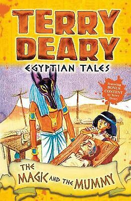 Egyptian Tales: the Magic and the Mummy by Terry Deary Paperback Book Free Shipp