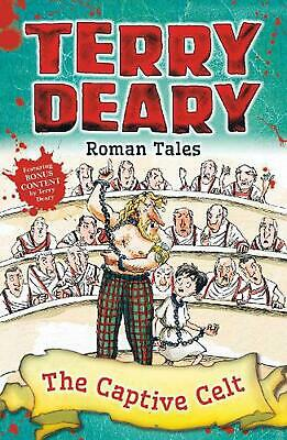 Roman Tales: the Captive Celt by Terry Deary Paperback Book Free Shipping!