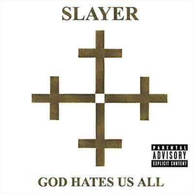 God Hates Us All - Slayer CD-JEWEL CASE Free Shipping!