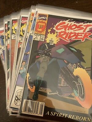 Ghost Rider 1-22 Complete Set VF 29 Comics New Bag and Boards Ghostrider Comic 1