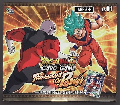 Dragon Ball Super Card Game Tournament Of Power Factory Sealed Box Series 1