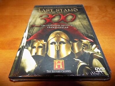 LAST STAND OF THE 300 Spartans Thermopylae Persian Sparta Ancient Greece DVD NEW