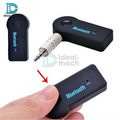 3.5mm Bluetooth V3.0 Wireless Stereo Audio Music Receiver Handsfree Car AUX