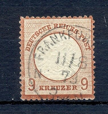 GERMANY 1872 MI# 21 b  CV € 800 USED VF  SIGNED-SOMMER BPP -