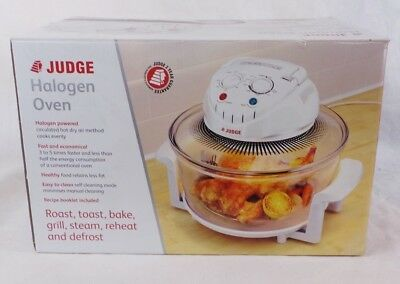 Judge Halogen Oven 1200-1400W with Replaceable Bulb 12.0 L