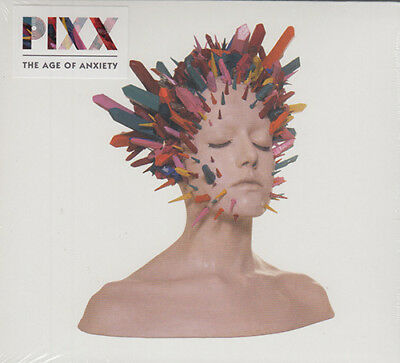 PIXX The Age Of Anxiety (2017) 12-track CD album NEW/SEALED Hannah Rodgers