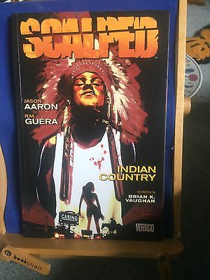 Scalped - Indian Country Volume 1 DC Aaron & Guera Signed
