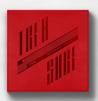 K-POP ATEEZ Album TREASURE EP.2 : Zero To One - 1 Photobook + 1 CD Free Ship