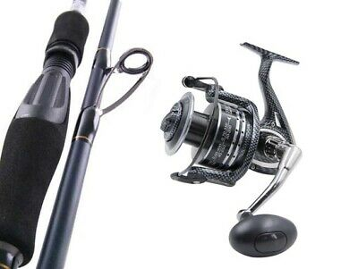 SARATOGA 8'4 3-6kg Carbon Fibre EGI Squid Fishing Spinning Rod and Reel Combo
