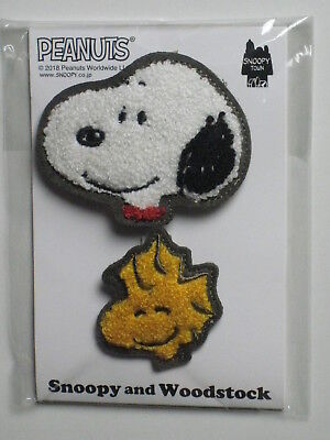 PEANUTS Snoopy and Woodstock Chenill Brooch, SNOOPY TOWN Shop Exclusive
