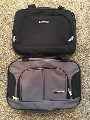 "15"" Carry-on Travel Tote Bag Boarding Under Seat Luggage lot of 2 brand new"