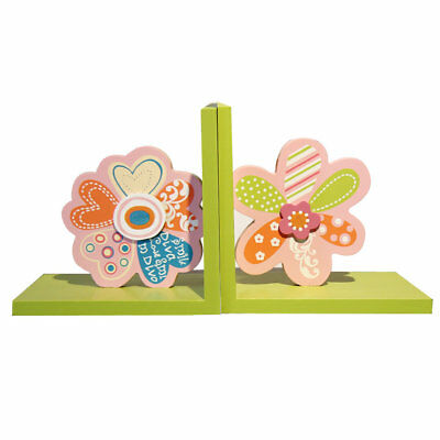 Adeco Trading Decorative Child's Wood Book Ends Set of 2