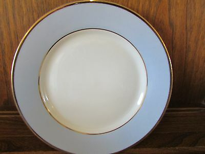 Royal Doulton~Daily Mail~Blue, White and Gilt 1X20.4cms Plate Free Post!