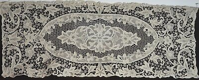 Vintage Runner Large Needle Lace Uu163