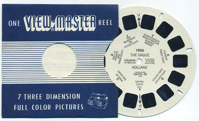The HAGUE Holland 1953 Belgian-made Sawyer's ViewMaster Single Reel 1906