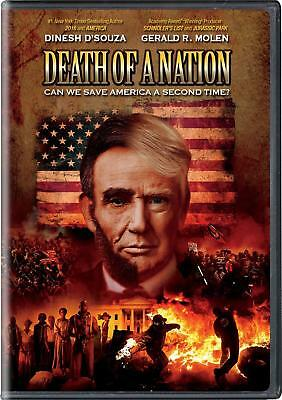 Dinesh D'Souza ~ Death Of A Nation Can We Save American A Second Time ~ NEW DVD