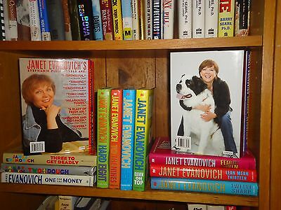 Lot of 22 Janet Evanovich BC/DJ Stephanie Plum 1 2 3 4 5 6 7 8 9 10 11 12 13 14
