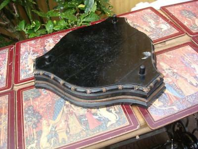 Vintage  Base Stand  Just Stand  for  French  Clock  Movement  Spare Or repair
