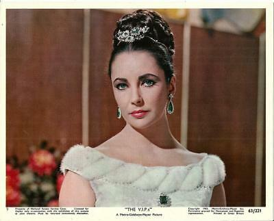 Liz Elizabeth Taylor The Vips Original Vintage Mgm Mini Lobby Still #3