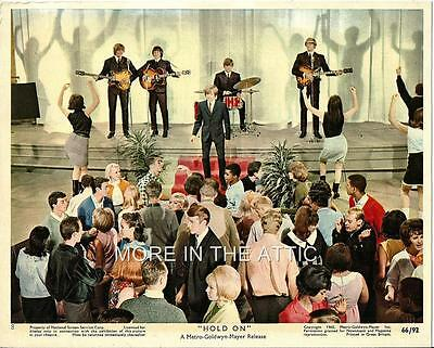 Peter Noone Herman's Hermits Original Hold On Mgm Mini Us Lobby #8
