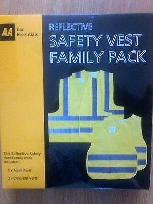 Reflective Safety Vest Family Pack