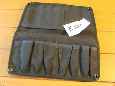 Empty Ex Military Small Tool Roll No K100 Ideal Size Suit Bsa Triumph Crafts