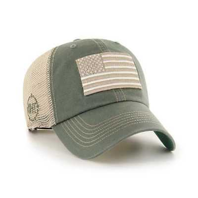 395ea8dd6af04 Operation Hat Trick OHT American Flag 47 Brand Moss Trawler Mesh Relax Hat  Cap