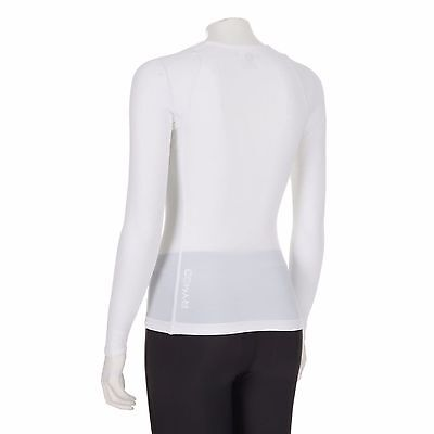 SKINS Women's RY400 Long Sleeve Top Large White