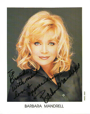 BARBARA MANDRELL - Country Music Singer - Hall of Fame - Autograph Photo