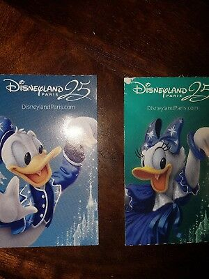 Euro Disney Tickets. 3 Day Pass X 2 Adults Valid Until June 2019