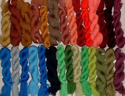 RP Broder DMC Medicis Wool 1Ply Fine Embroidery Petitpoint Needlepoint Yarn Lot
