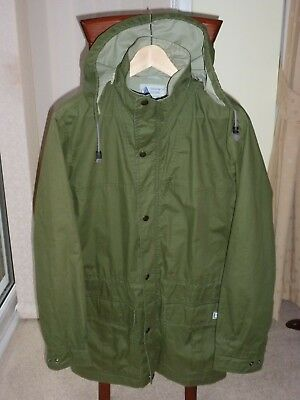 "1970s VINTAGE 'SNOWPATCH' HIKING HOODED JACKET- MEDIUM 38-39"" -MADE IN ENGLAND"