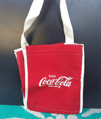 Vintage Retro 1980s Coca Cola COKE Tote Bag!