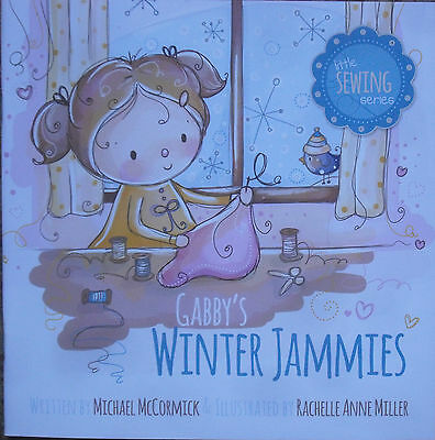 Gabby's Winter Jammies Quilt Fabric Kit Pattern & Child's Book (2 Quilts)