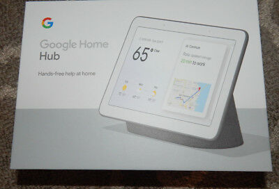 "Google Home Hub W/Google Assistant Smart 7"" Display Charcoal"