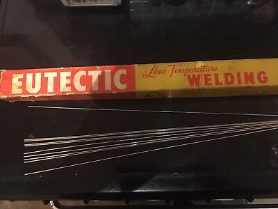 X10 GENUINE CASTOLIN EUTECTIC 190 low temperature Aluminium welding/brazing rods