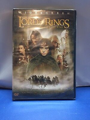 The Lord of the Rings: The Fellowship of the Ring (DVD, 2002, 2-Disc Set, Wides…