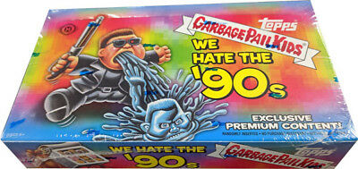 Garbage Pail Kids 2019 Series 1 We Hate the 90s Factory Sealed Collectors Box