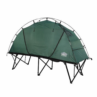 Kamp Rite CTC XL Compact Light Collapsible Backpacking Camping Tent Cot, Green