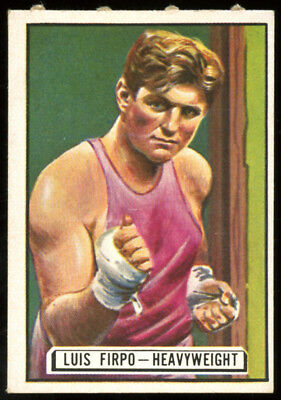 1951 Topps Ringside Boxing #66 Luis Firpo.  Ex