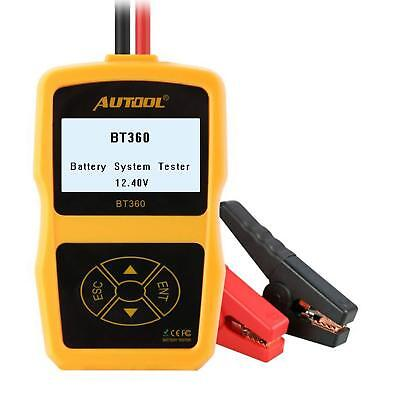 AUTOOL Battery Load Tester CCA 100-2400 Bad Cell Test for Regular Flooded