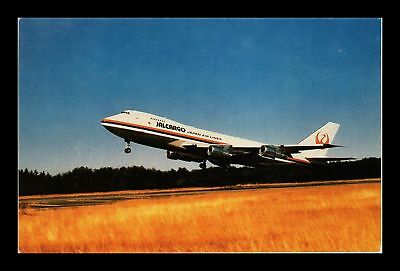 Dr Jim Stamps Us Jal Japan Air Lines Airplane Chrome View Postcard